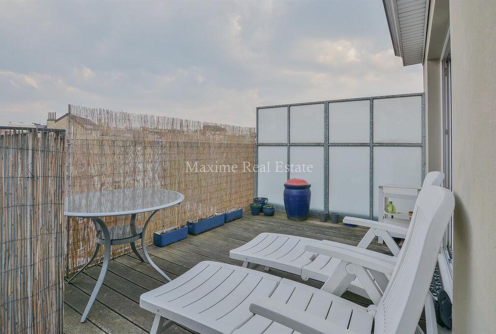 Penthouse te huur in Schaerbeek